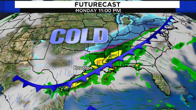 Is Houston's first official freeze on the horizon for next week?