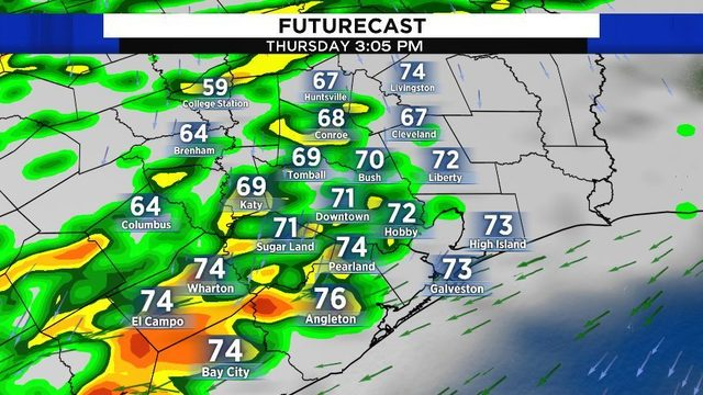5 things you need to know as today's cold front pushes through