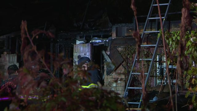 Firefighter injured during northeast Harris County blaze