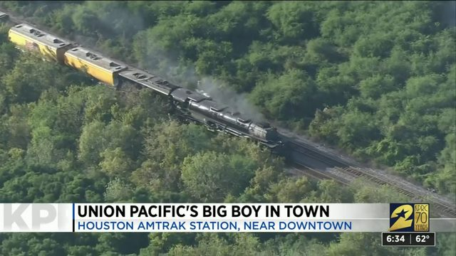 """Union Pacific's """"Big Boy"""" in town"""
