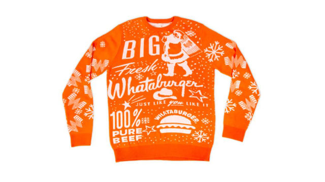 What-a-Christmas: Whataburger releases its 2019 holiday sweater