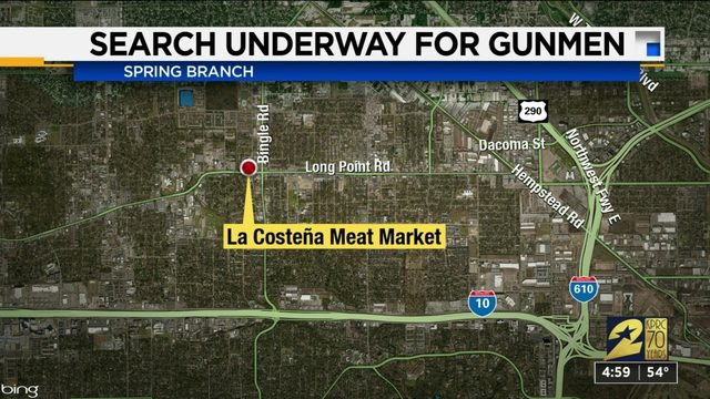 Three masked robber hold up grocery story