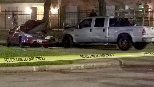 3 injured in possible road rage crash in north Houston, police say