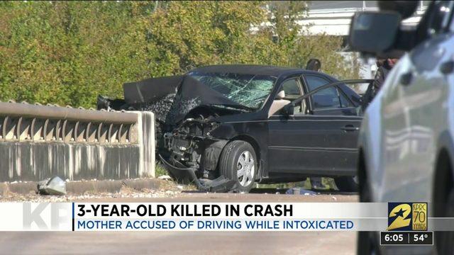 3 Year Old Killed In Crash