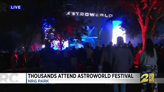 Thousands Attend Astroworld Festival