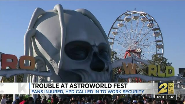 Trouble At Astroworld Fest