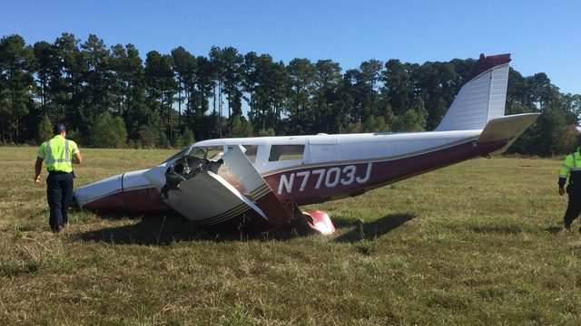 Small plane crashes, pilot sustains only minor injuries HCSO says