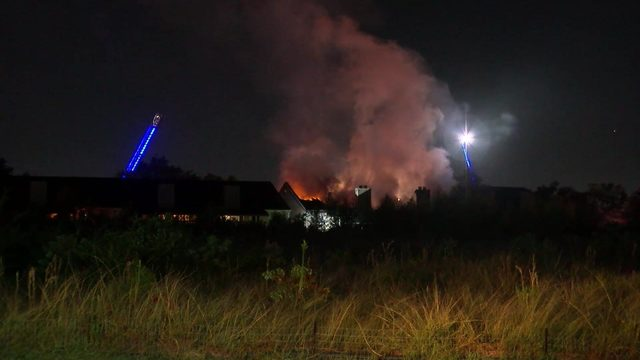 Several apartment units damaged in massive fire