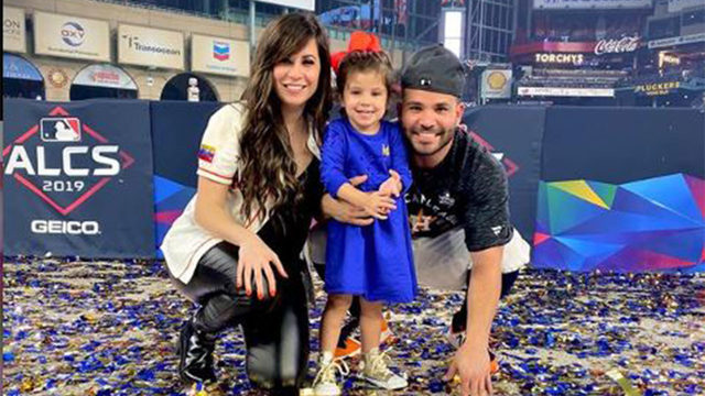 New Astros baby on board! Jose Altuve, wife expecting new baby