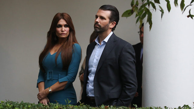 Donald Trump Jr., Kimberly Guilfoyle heckled at UCLA after refusing…