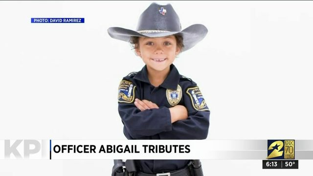 Officer Abigail tributes