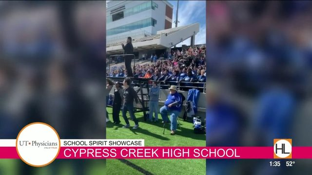 School Spirit Showcase: Cypress Creek High School | HOUSTON LIFE | KPRC 2