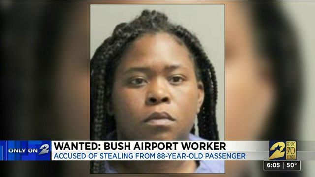 Wanted: Bush Airport worker accused of stealing from passenger