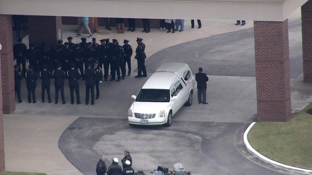 Honorary Freeport Officer Abigail Arias laid to rest