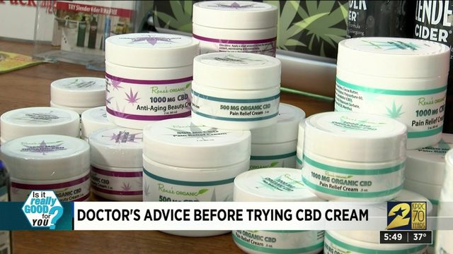 Doctor's advice before trying CBD cream