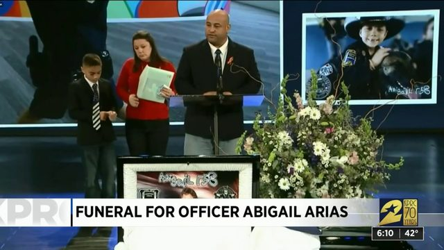 Funeral for Officer Abigail Arias