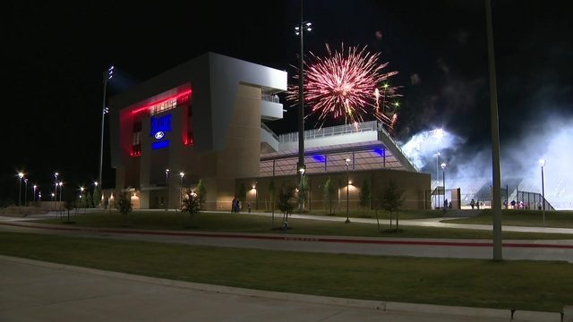 Grand opening held at new Spring ISD stadium