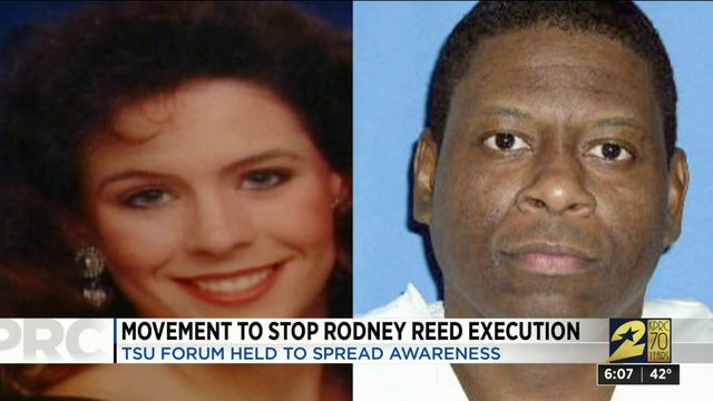 Movement to stop Rodney Reed execution
