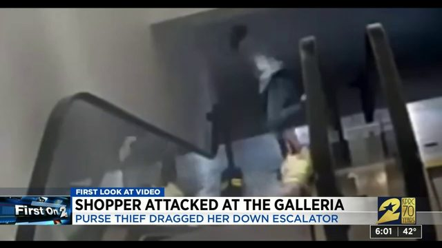 Shopper attacked at The Galleria