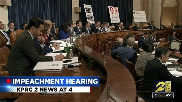 Impeachment hearings get started
