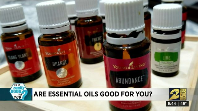 Are essential oils good for you?