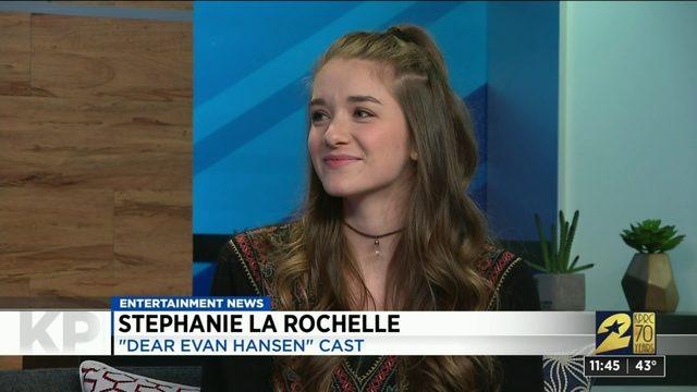 "Cast member of ""Dear Evan Hansen"" stops by the KPRC 2 studio"