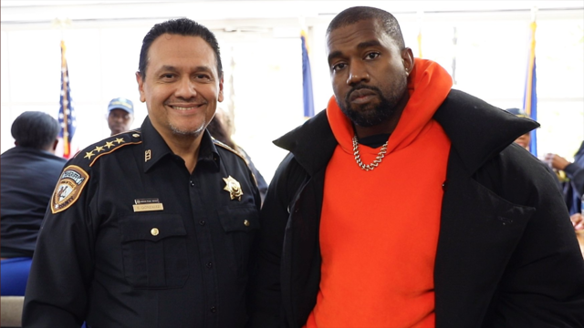 WATCH: Kanye West performs at Harris County jail Friday