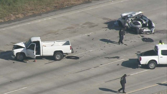 Horrific deadly crash cleared from 610 South Loop
