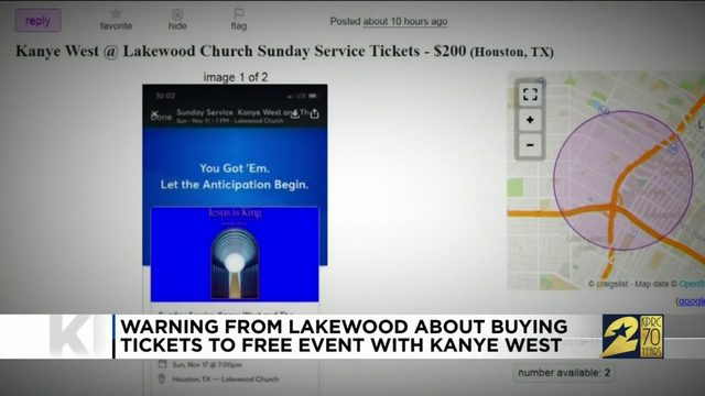 How people are reselling tickets for Kanye's Lakewood service despite…
