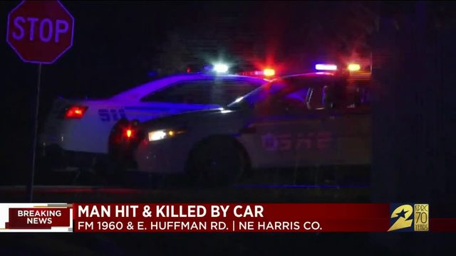 Man struck by vehicles, killed while crossing road in northeast Harris…