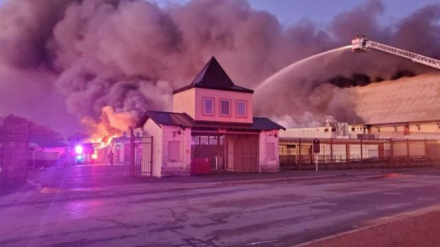 Marktplatz building a 'total loss' after fire at Wurstfest grounds in…