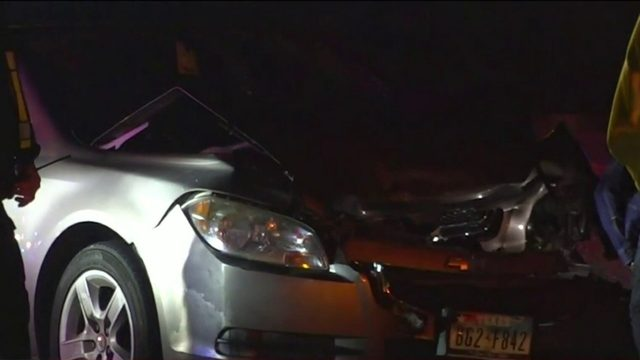 Woman tumbles out of moving car, hit and killed by another car, police say
