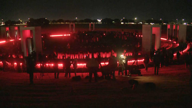 Thousands gather to remember 12 Aggies lost in tragic A&M bonfire collapse